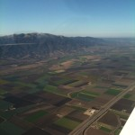 Salinas valley while setting up for the 31 ILS.