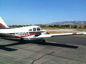 Sept 2011 - Biz flight to Petaluma for a client meeting.