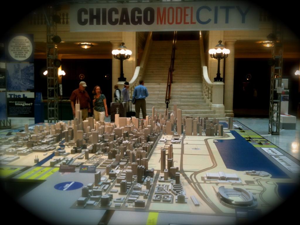 Mini Chicago al Centro de Arquitectura de Chicago.
